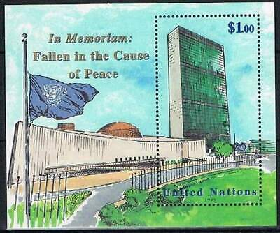 United Nations - New York postfris 1999 MNH blok 17 - Monument voor Gevallenen