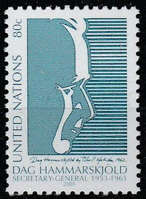 United Nations - New York postfris 2001 MNH 880 - Dag Hammerskjold