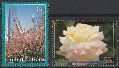 United Nations - New York postfris 1997 MNH 730-731 - Bloemen / Flowers