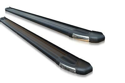 To Fit 13+ Ford Transit Tourneo Custom SWB Side Running Boards Step Black TYPE B