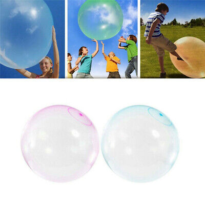 2PCS Bubble Balloon Inflatable Toy Ball Tear-Resistant Super Inflatable Ball HOT