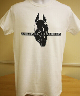 Death Grips Mask Logo T-Shirt Tee Hipster Punk Bottomless Pit No Love Band Indie