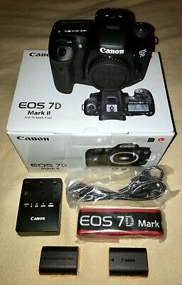 *GREAT DEAL* CANON EOS 7D MARK II 20.2MP DSLR Camera Body - ONLY USED 3 DAYS!!!