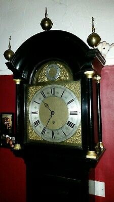 A very rare 2 MONTH DURATION London clock c1720!
