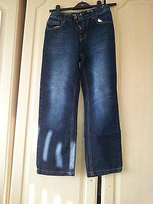 Boys Blue Slim Leg Jeans Age 10 Years
