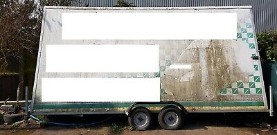 ADVERTISING TRAILER / SIGN / MOBILE BILLBOARD A-SHAPE DOUBLE SIDED 16.5ft x 8ft
