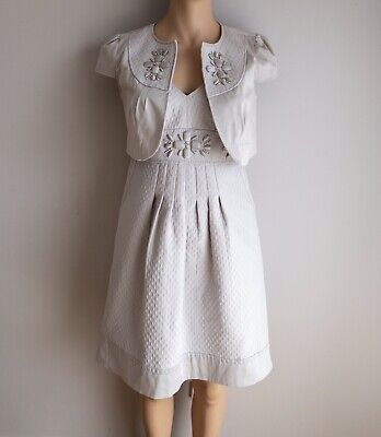 Jacqui E Dress Suit Size 14 16 Wedding Mother Of Bride Evening Formal Church