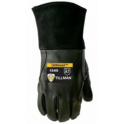 Tillman 1340 MIG Glove with ANSI A7 Cut Resistance and OilShield (Large)