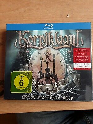 Korpiklaani Live At Masters Of Rock Cd/ Blu Ray
