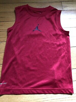 27a8fabe70ebbf AIR JORDAN RED Sleeveless Jacket Coat Puffer Vest Men Size XXL 2XL ...