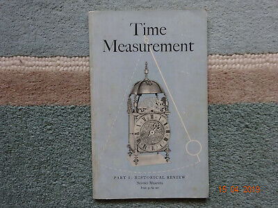 Time Measurement : Historical Review - Science Museum 1958