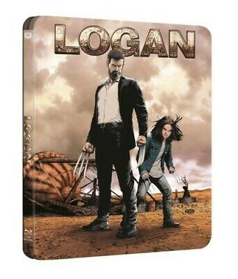 Logan + Logan Noir - HMV Exclusive Blu-Ray Steelbook *NEW & SEALED*
