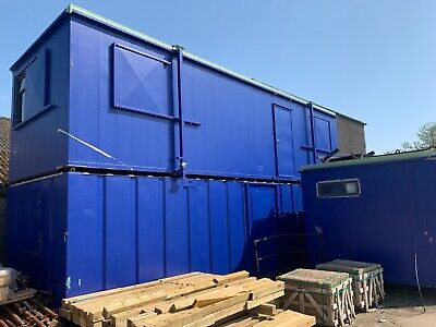 Anti-vandal Steel Site Canteen / office Cabin Container 32ft x 10ft