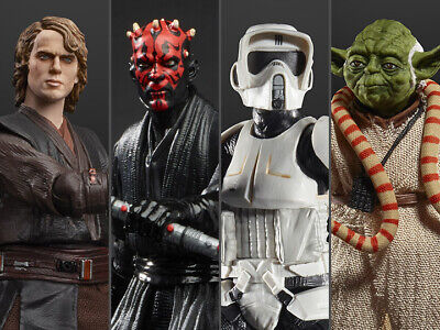 IN STOCK - Star Wars The Black Series Archive Collection Wave 2 Set of 4 Figures