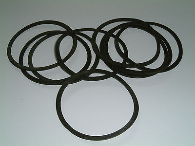 10 Rubber Washers 30mm O//D X 19mm I//D X 3mm Thk