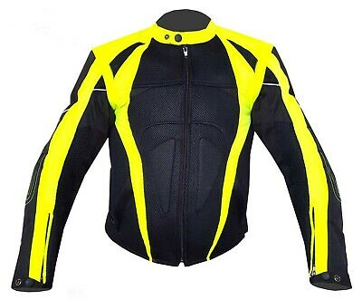 NEW WARRIOR Motorcycle Motorbike Summer Mesh Breathable CE Armour Biker Jacket