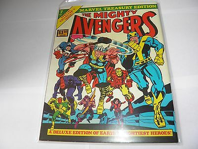 Marvel Treasury Edition 7 - Mighty Avengers NEAR MINT HIGH GRADE US Price