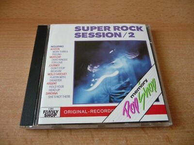 CD Super Rock Session 2: Boston Meat Loaf Heart Cheap Trick Men at work Santana