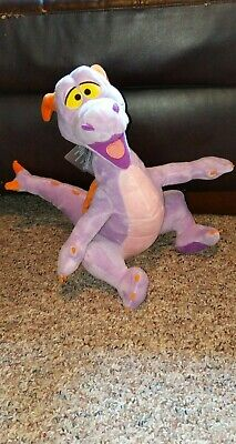 "Disney Parks Epcot Figment Purple Dragon 16"" Stuffed Plush Animal Toy NWT"