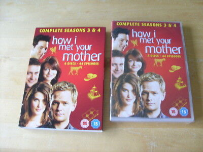How I Met Your Mother - Series 3 & 4 - Complete (DVD, 2011) NEW - SEALED