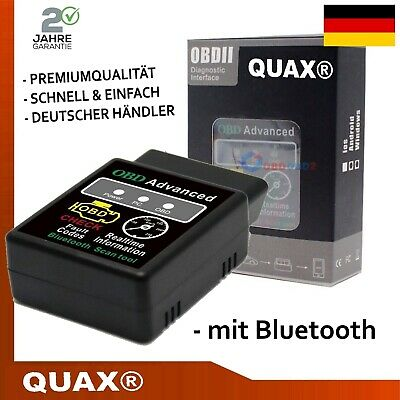 OBD2 Diagnosegerät Bluetooth Autoscan 2019 KFZ Auto Android Handy PC ADAPTER NEU