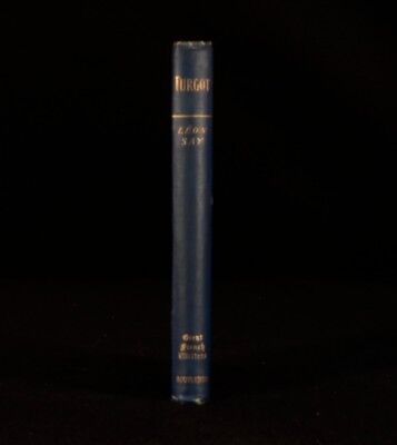 1888 Turgot Leon Say Great French Writers Translated Gustave Masson