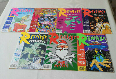 Revolver #1 to 7 2000AD Offshoot UK Comics Job Lot  Complete Series VF/NM