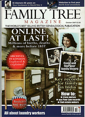 FAMILY TREE Magazine October 2007 - Online At last!