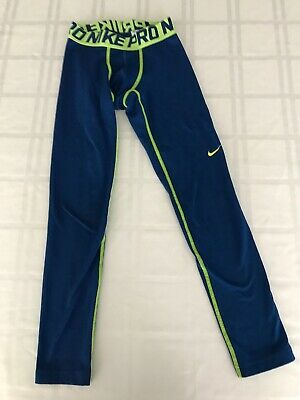 Nike Pro Warm Compression Tights Youth Size S-L New with Tags AQ5710 100