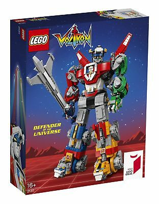 Lego Ideas Voltron Robot Transformer (21311) ~ NEW FACTORY SEALED