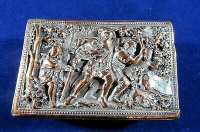 ANTIQUE VINTAGE MATCH BOX SAFE - Very attractive - Very old - Very rare- Used