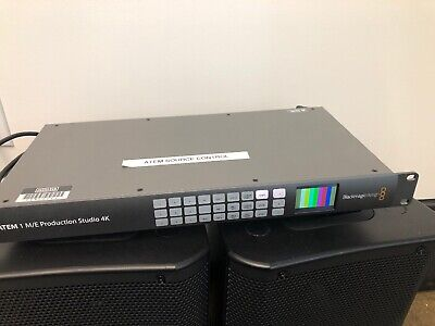 Blackmagic Design Atem 1 M/e Production Studio 4k - Good Condition!