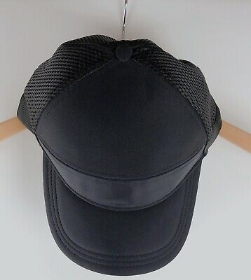 df2d48af NWT Lululemon Dash and Splash Cap Hat Baller Like Black Mesh Adjustable $38