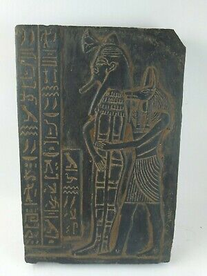 RARE ANCIENT EGYPTIAN ANTIQUE ANUBIS Stella 1750-1500 BC