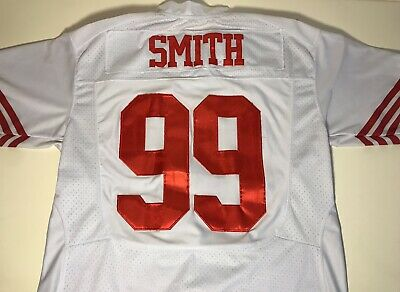 ff978a449a6 SAN FRANCISCO 49ERS JUSTIN SMITH Nike Sewed Jersey Men Size 48  94 ...
