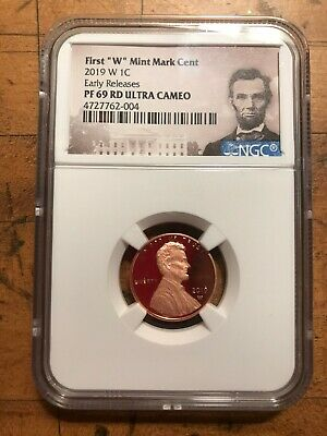 2019 W Lincoln Cent Ngc Pf 69 Rd Ultra Cameo Early Releases Proof