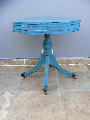 vintage antique style shabby chic coffee / wine table / side / hall / sofa table