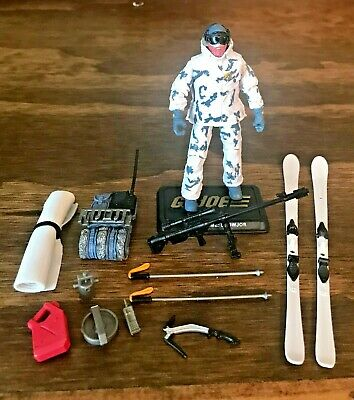 BIN B9  G I JOE Accessory   XMLR-3A Laser Rifle Gun 1983 Snow Job Mold
