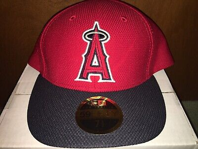 dbbc48dffcfb43 Los Angeles Angels New Era 59Fifty Low Profile Fitted MLB Hat/Cap Size 7 1
