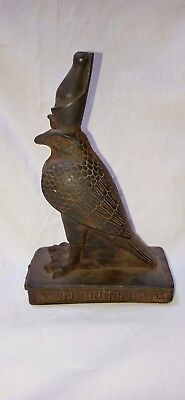 ANCIENT EGYPTIAN ANTIQUES STATUE Of God HORUS Falcon Egypt RARE Carved Stone BC