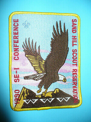 OA 1990 SE1 Conference,Jacket Patch,JP,340 Host,Eagle,237,265,326,552,Florida,FL