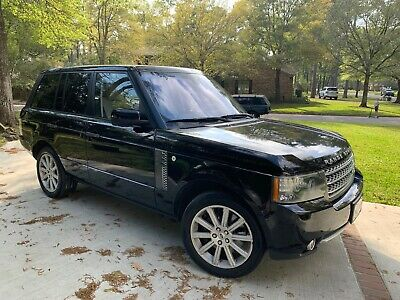 2010 Land Rover Range Rover Supercharged 2010 Land Rover Range Rover Supercharged