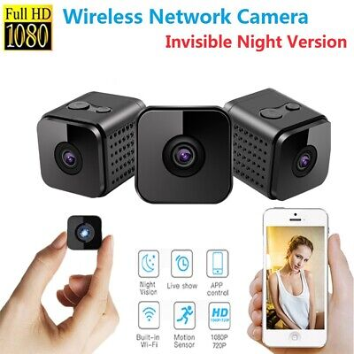 Spy Mini Camera Home Security  Wireless Wifi HD IP 1080P DVR Night Vision Remote