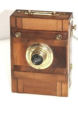 """Wooden French camera antique,  From """"Mars, Opticien Paris"""""""