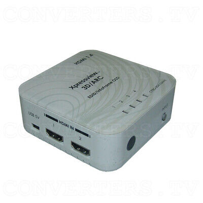 HDMI v1.4 4 In 1 Out Switch with Coaxial Audio Out  CPRO-3D41GAME