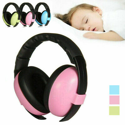 Baby Kids Safety Earmuffs Ear Hearing Protection Noise Cancelling Ear Muffs