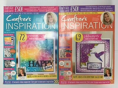 Crafter's Inspiration 2x NEW Magazine Box Kits - Recent Issues!