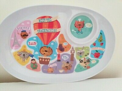 Snack packers Children's Paperchase Plate