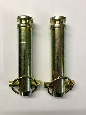 """x2 Useable Length Tractor Top Link Pins Cat 2 5.5//8/"""" 143mm 25.4mm"""