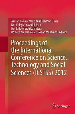 Proceedings of the International Conference on Science, Technology and Social Sc
